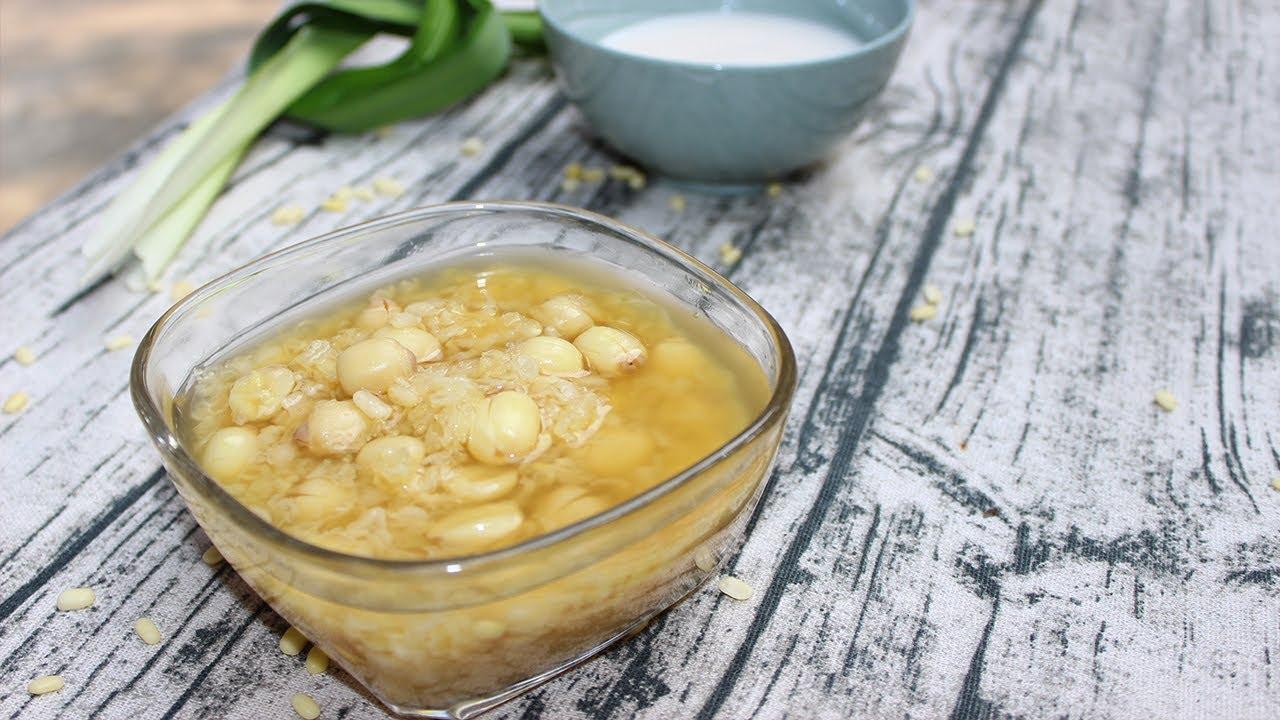 Cách nấu xôi chè hạt sen đậu xanh cho cúng đầy tháng bé trai bằng nồi cơm điện thơm ngon